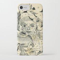 Grotesque Flora and Fauna iPhone 7 Slim Case