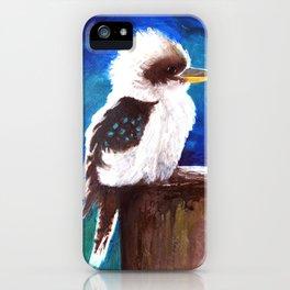 Kookaburra (aka Laughing Jackass!) iPhone Case