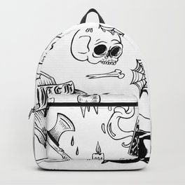 halloween flash Backpack