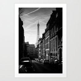 Any Corner In Paris Art Print
