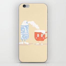 Milky Couple iPhone Skin