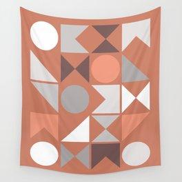 Mid Century Modern Geometric 18 Wall Tapestry