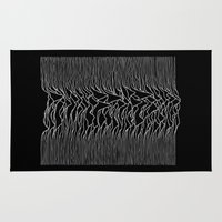 joy division Area & Throw Rugs featuring Joy Division 2 by NoHo
