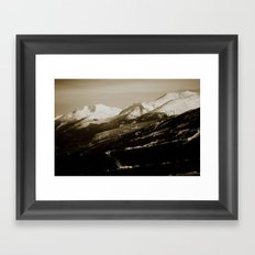 whistler, BC Framed Art Print