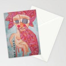 Lady Beard Stationery Cards