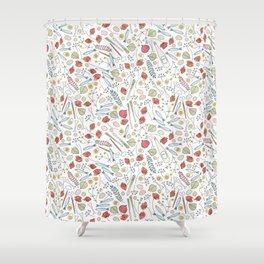 Midsummer Table Shower Curtain