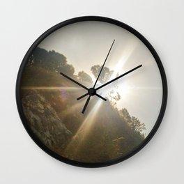 Shine Over Me Wall Clock