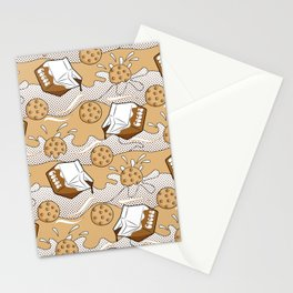 Pop Art - Cookies and Cocoa Stationery Cards