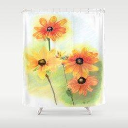 Gloriosa Daisies Shower Curtain