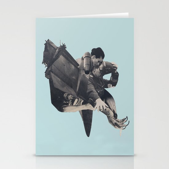 The Rushing Fog Stationery Cards