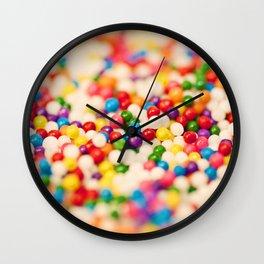 Pretty Sprinkles Wall Clock