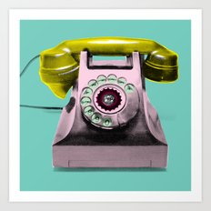 Call Marylin Art Print