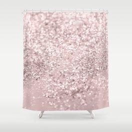 Blush Glitter Dream #1 #shiny #decor #art #society6 Shower Curtain