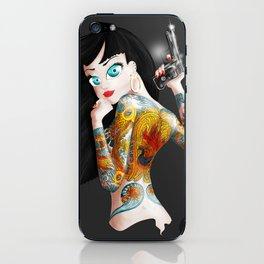 Chica Yakuza iPhone Skin