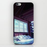 cabin iPhone & iPod Skins featuring Cabin by Kiana