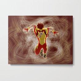 Kid Flash Metal Print