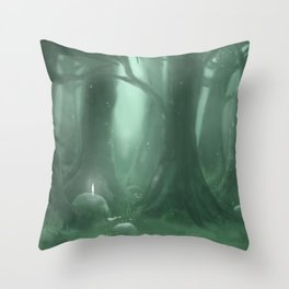 A Great Forest Throw Pillow