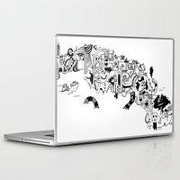cuba Laptop & iPad Skins featuring CUBA by gabriel