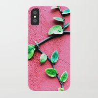 plant iPhone & iPod Cases featuring plant by Baptiste Riethmann