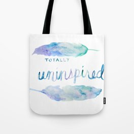 Totally Uninspired Tote Bag