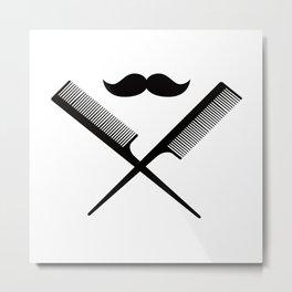 Hairdresser Metal Print