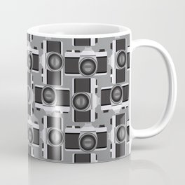 35mm Camera Pattern Coffee Mug