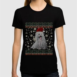 Ugly Christmas Komondor Dog Xmas Merry Christmas Gifts T-shirt