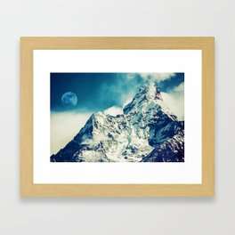 Everest Base Camp Trekking Route, Khumjung, Nepal 1 Framed Art Print