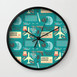 His Last Vow Wall Clock