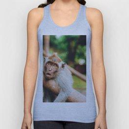 Cute Monkey (Color) Unisex Tank Top