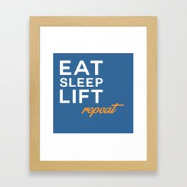 Repeat Framed Art Print