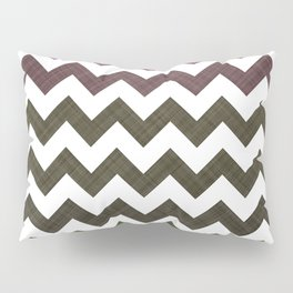 Pink Roses in Anzures 3 Chevron 1T Pillow Sham