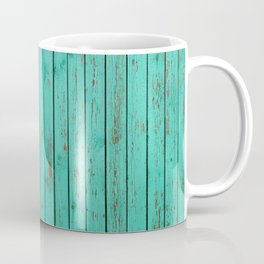 wood turquoise new art grid wod color fun pattern texture style 2018 2019 artist floor wall new Coffee Mug