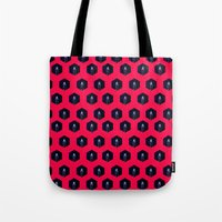 lighthouse Tote Bags featuring Lighthouse by Mehdi Elkorchi