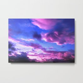 Colorful Skies Metal Print