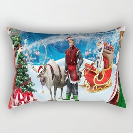 Frozen Christmas Rectangular Pillow