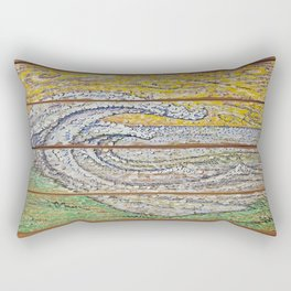 Waves on Grain Rectangular Pillow