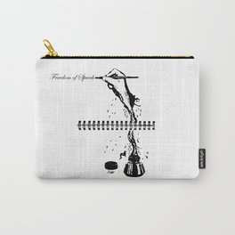 Freedom of Speech Carry-All Pouch