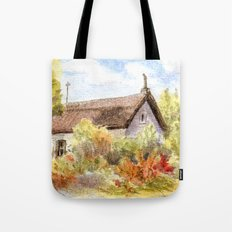 Old Farmer House in Hungary Tote Bag