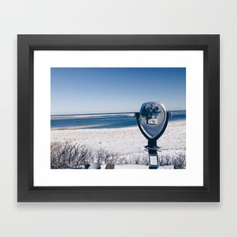 Chatham Light Framed Art Print