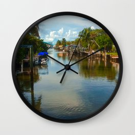 Peaceful Relection Wall Clock