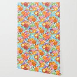 Jubilee Blooms Wallpaper