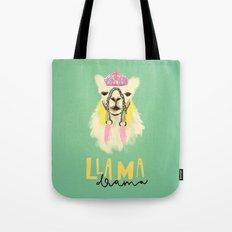 Llama drama queen Tote Bag