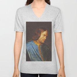 Lorenzo de Medici Rubens, antique fine art painting Unisex V-Neck