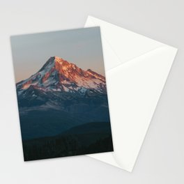 Mount Hood Sunset Stationery Cards