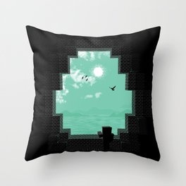 Precious Life Throw Pillow