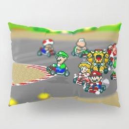 Mario Circuit Pillow Sham