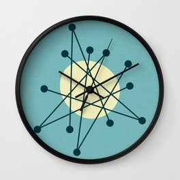 1950s atomic design Wall Clock