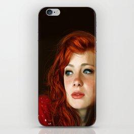 RedHead iPhone Skin