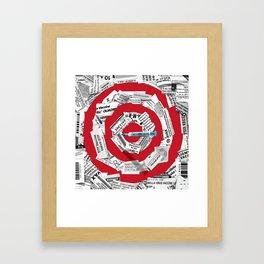 Vaccination Breakdown Framed Art Print